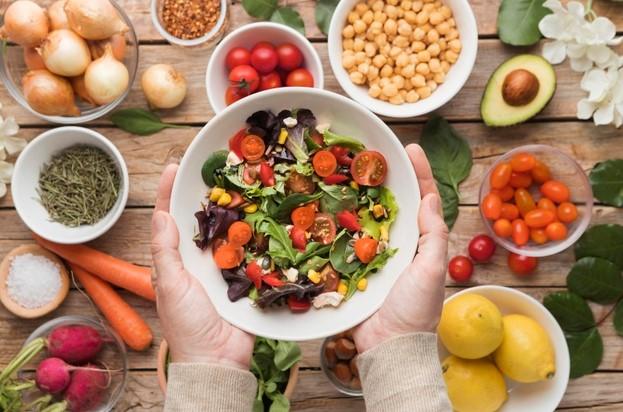 comer sano y ser productivo